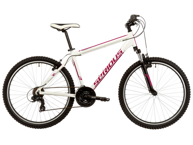 "Serious Rockville 26"" white/fuchsia"